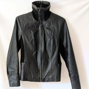 100% Leather Moto Jacket XS/SMALL